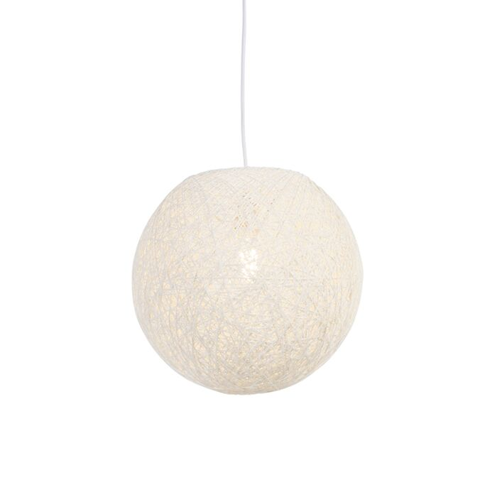 Country-hanging-lamp-white-35-cm---Corda