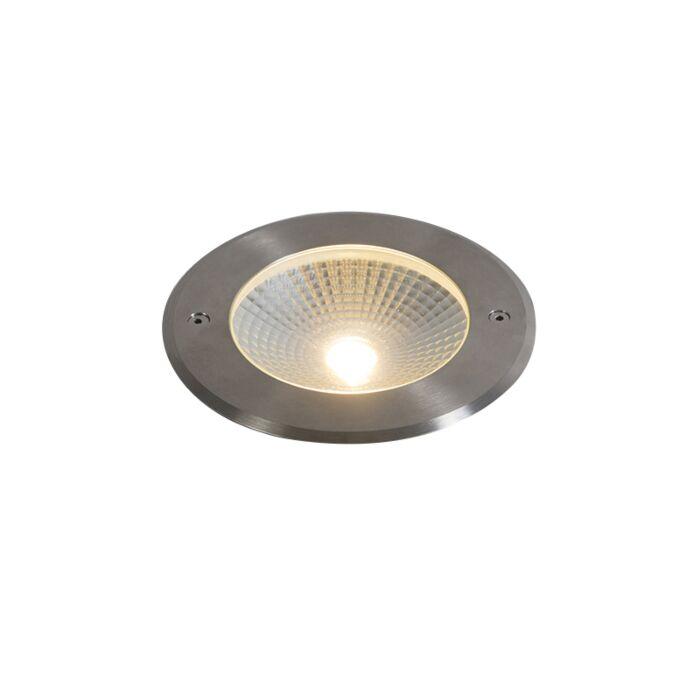 Modern-ground-spot-aluminum-incl.-LED-10W---Bridge