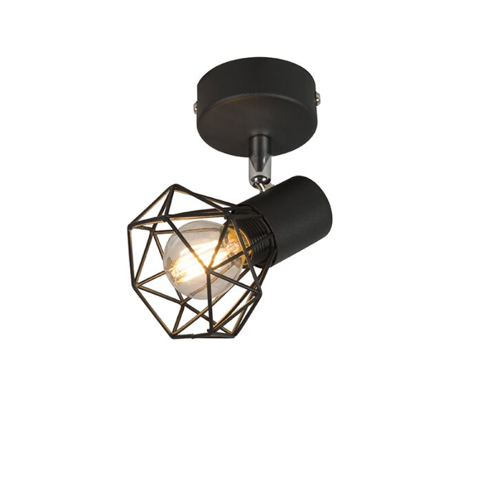 Art-Deco-Adjustable-Spotlight-Black---Mosh-1