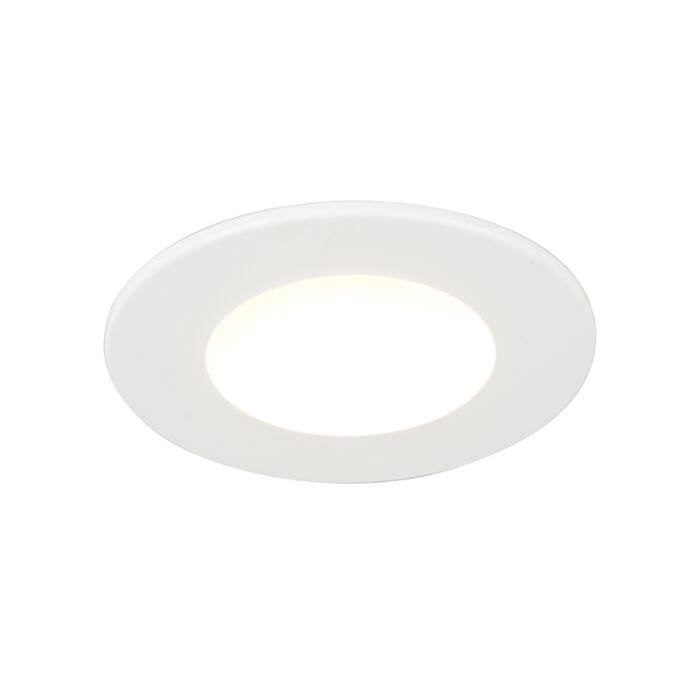 Built-in-spot-white-incl.-LED-280-lumens-3000K-4W-IP65---Blanca