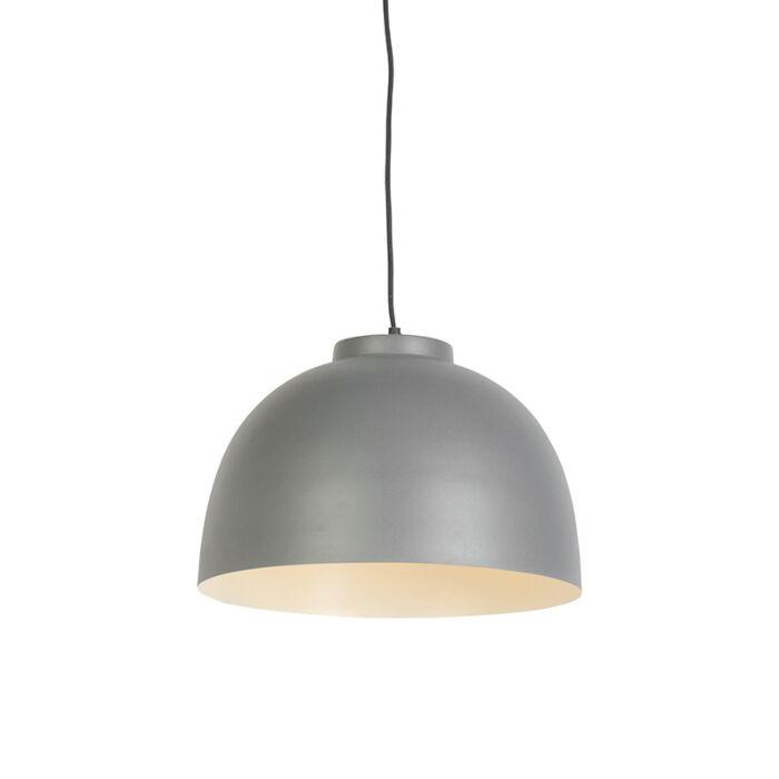 Scandinavian-hanging-lamp-gray-40-cm---Hoodi