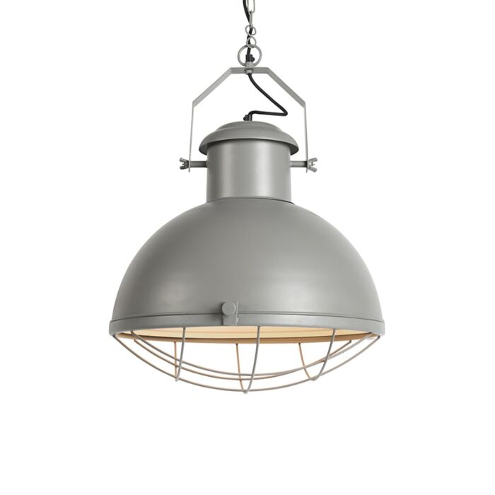 Industrial-hanging-lamp-gray---Engine