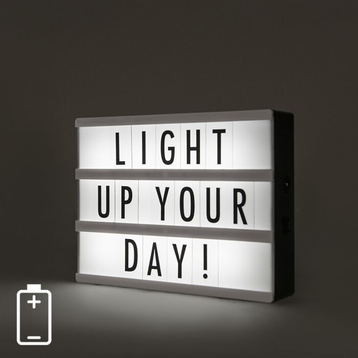 Wall-and-table-lamp-incl.-LED---Lightbox-A5