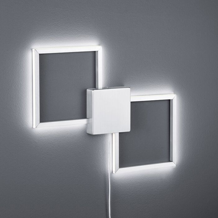 Modern-Square-Wall-Lamp-Steel-incl.-LED---Carpo