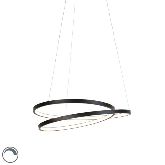 Design-hanging-lamp-black-55cm-incl.-LED-dimmable---Rowan