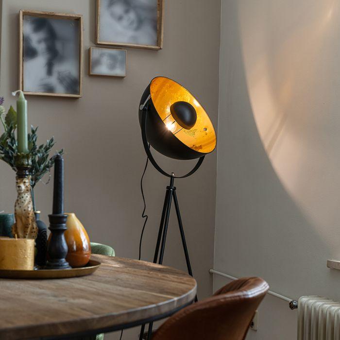 Industrial-floor-lamp-tripod-black---Magna-40-Eglip