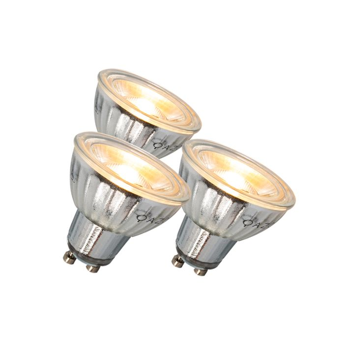 Set-of-3-GU10-LED-7W-500LM