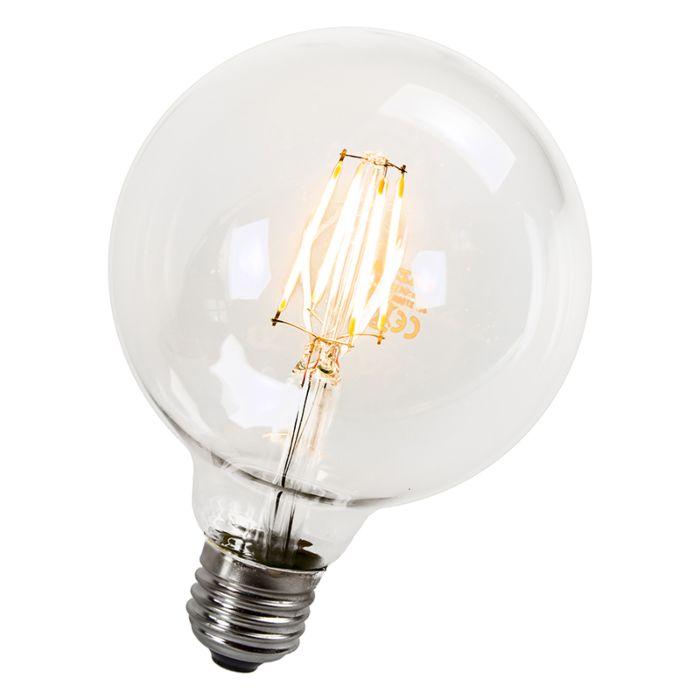Globe-bulb-Filament-LED-95mm-E27-4W-470-Lumen