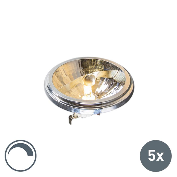 Set-of-5-G53-AR111-Osram-Halogen-50W-540LM-3000K-Dimmable