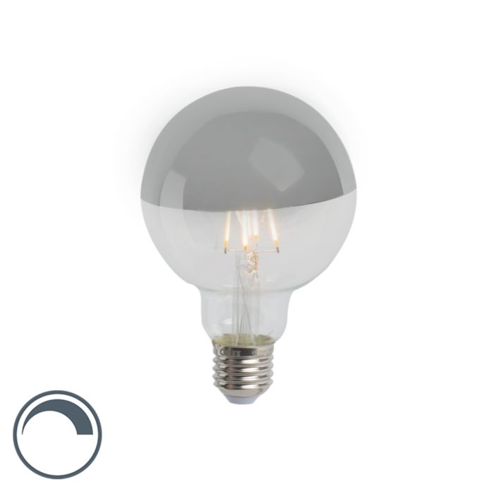 E27-LED-G95-Silver-Mirror-Head-4W-280LM-2300K-Dimmable