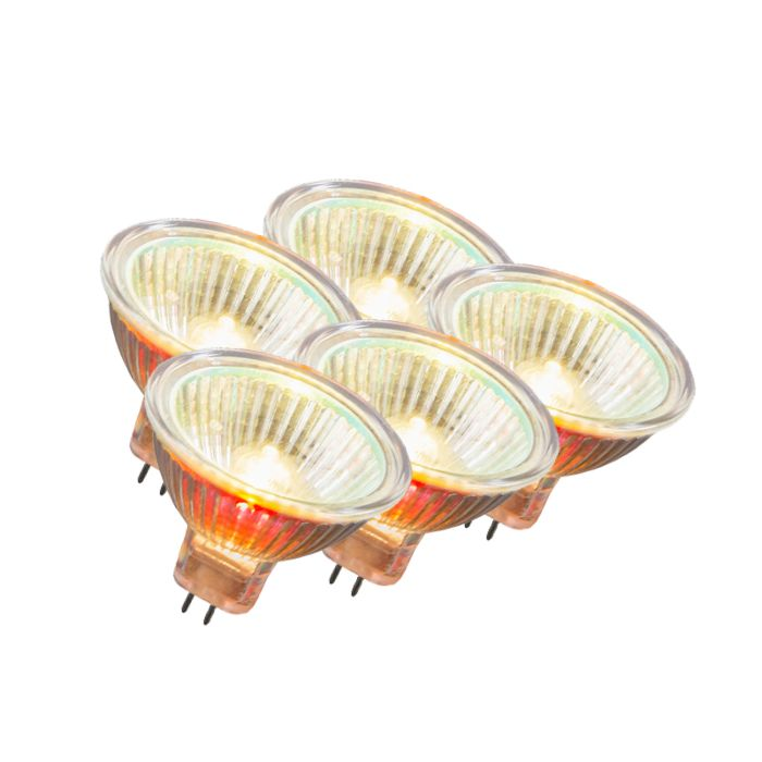 Set-of-5-MR16-Halogen-35W-500LM