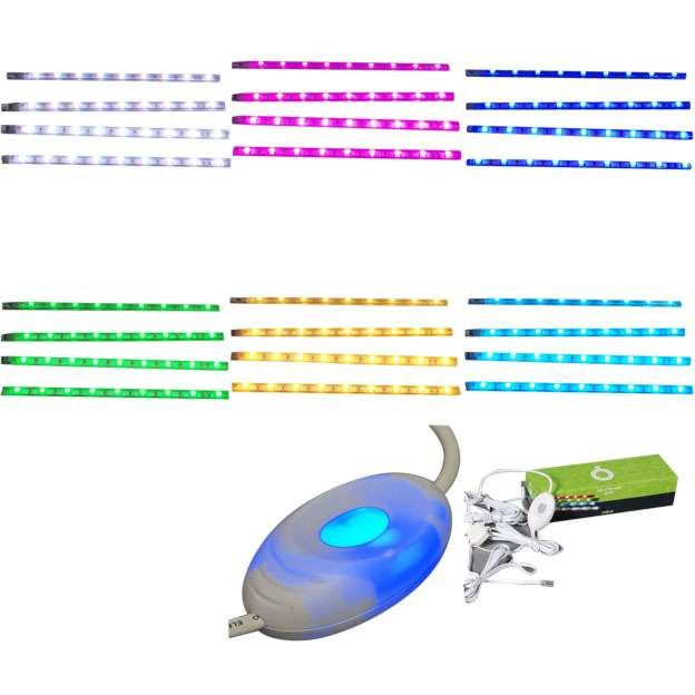 LED-strip-RGB---Set-of-4