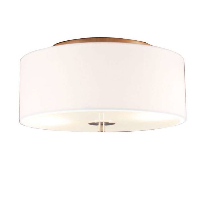 Country-ceiling-lamp-white-30-cm---Drum