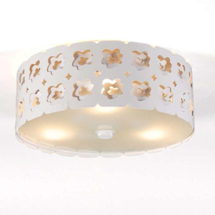 Ceiling-lamp-Rose-white
