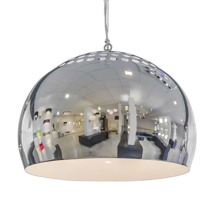 Hanging-lamp-Fermo-40cm-chrome