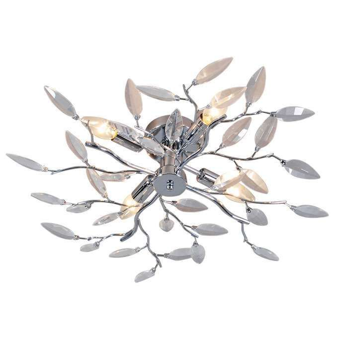 Ceiling-lamp-Forest-4-Glass/chrome