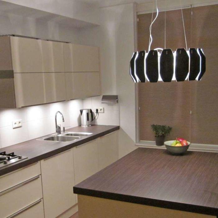 Hanging-lamp-Archo-chrome---black