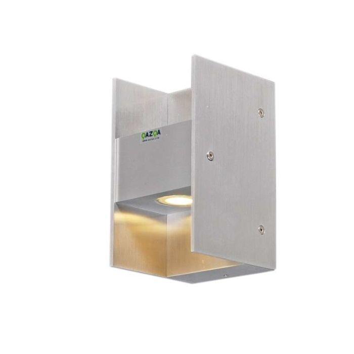 Wall-lamp-Luna-II-aluminium-LED-IP54