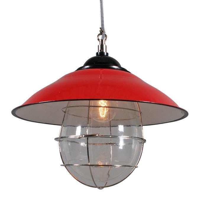Hanging-lamp-Skipper-Red