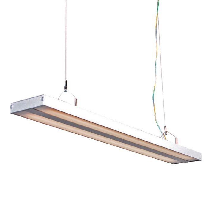 Pendant-Lamp-Tube-S-Silver-2-x-21W