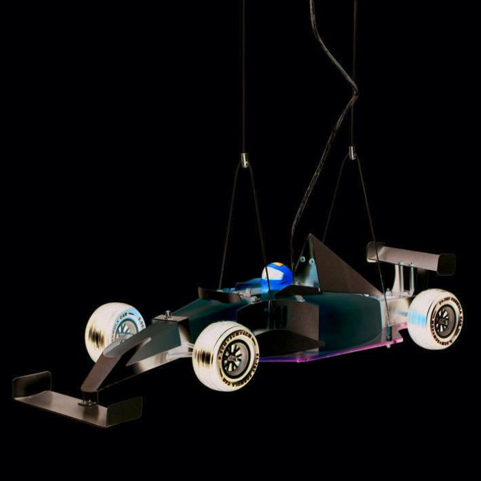 Hanging-lamp-Kids-Formula-1-racing-car