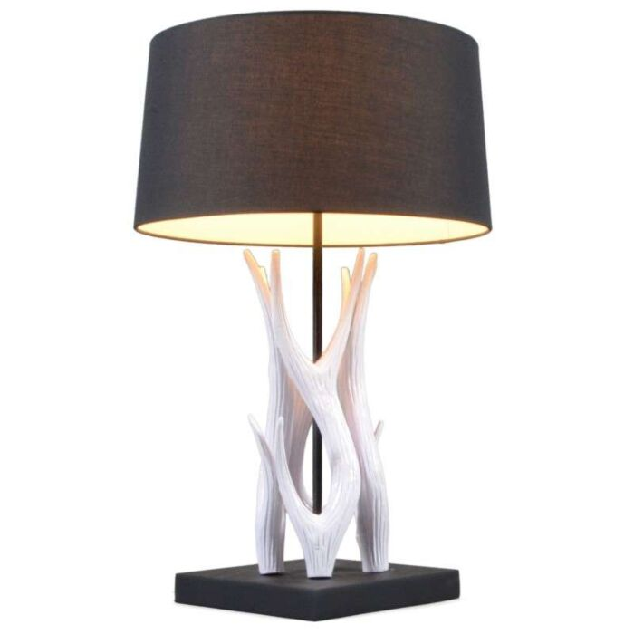 Table-Lamp-Yindee-White---Black-Shade