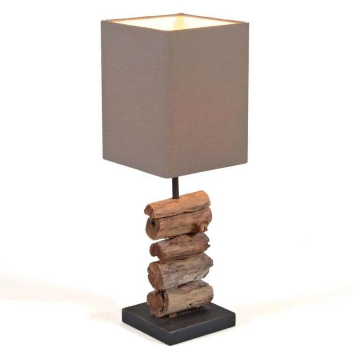 Table-Lamp-Mayoree---Brown-Shade