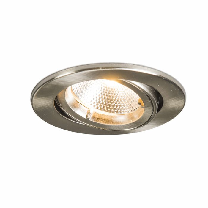 Recessed-Safe-Round-Steel-6W-LED
