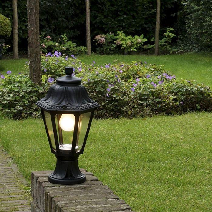 Rural-outdoor-lantern-base-black-IP44---Anna