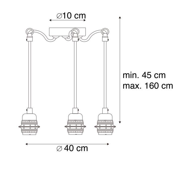 Modern-hanging-lamp-black---Cava-3