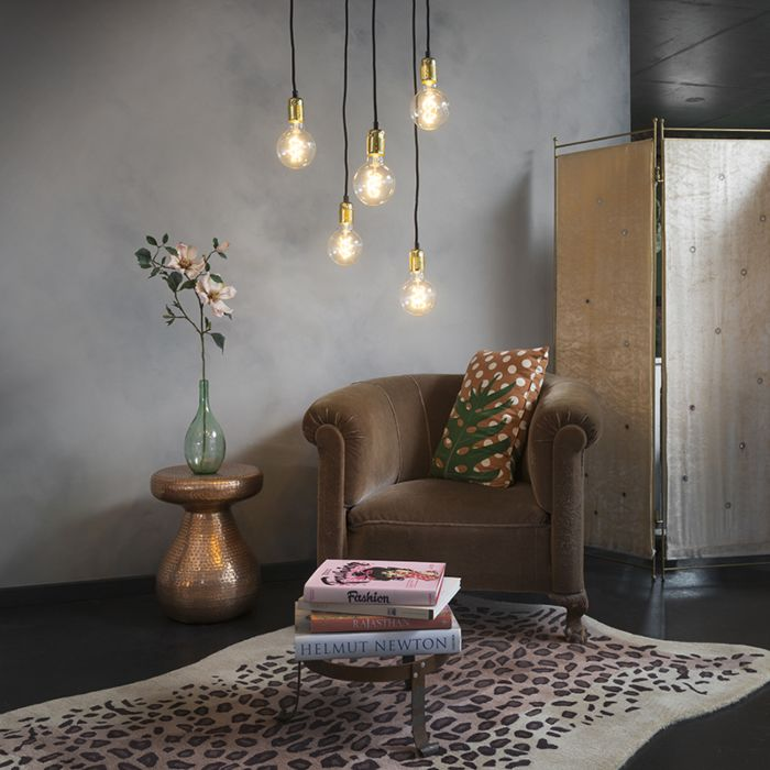 Modern-hanging-lamp-gold-dimmable---Cava-5