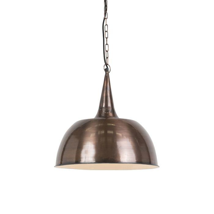 Industrial-Pendant-Lamp-Copper---Loft