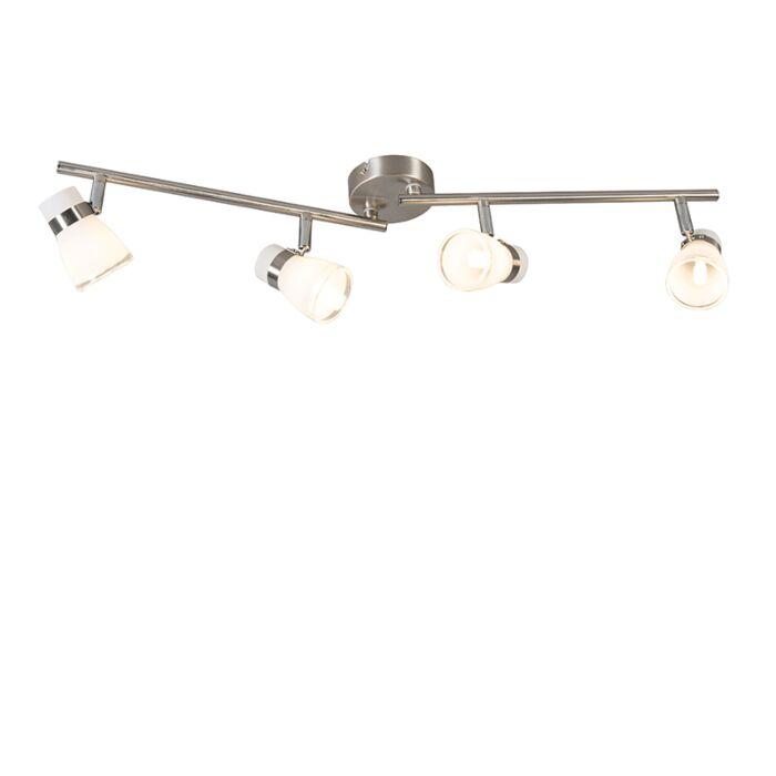 Ceiling-spot-steel-swivel-and-tiltable-4-light---Nadia