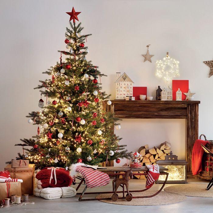Christmas-Tree-Pine-Light-Green-LED-1.8-Meter
