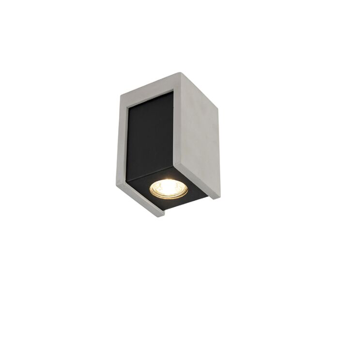 Industrial-Square-Ceiling-Spotlight-Black-with-Concrete---Brox