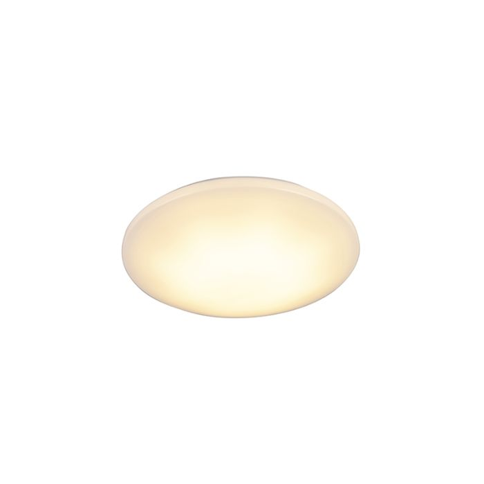 Modern-Round-Ceiling-Lamp-White-IP44-incl.-LED-15W---Tiho