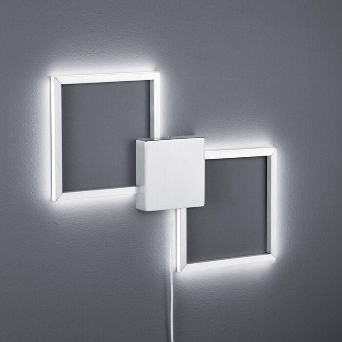 Modern-Square-Wall-Lamp-Steel-incl.-LED---Carpo