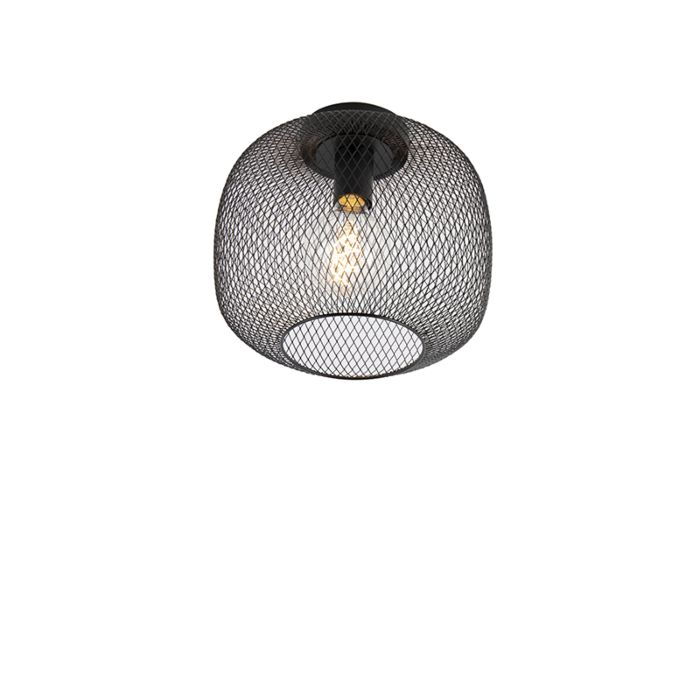 Modern-black-ceiling-lamp---Bliss-Mesh