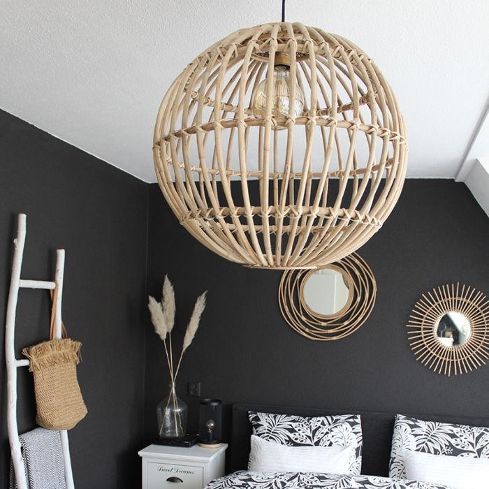 Country-Pendant-Lamp-Natural-Bamboo---Cane-Ball-60