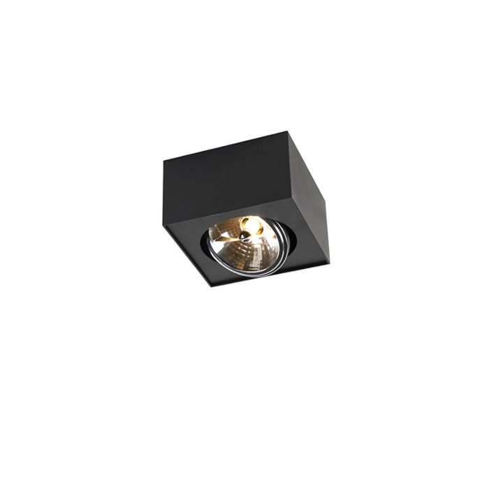 Modern-Square-Spotlight-1-Black-incl.-G9-LED---Kaya-