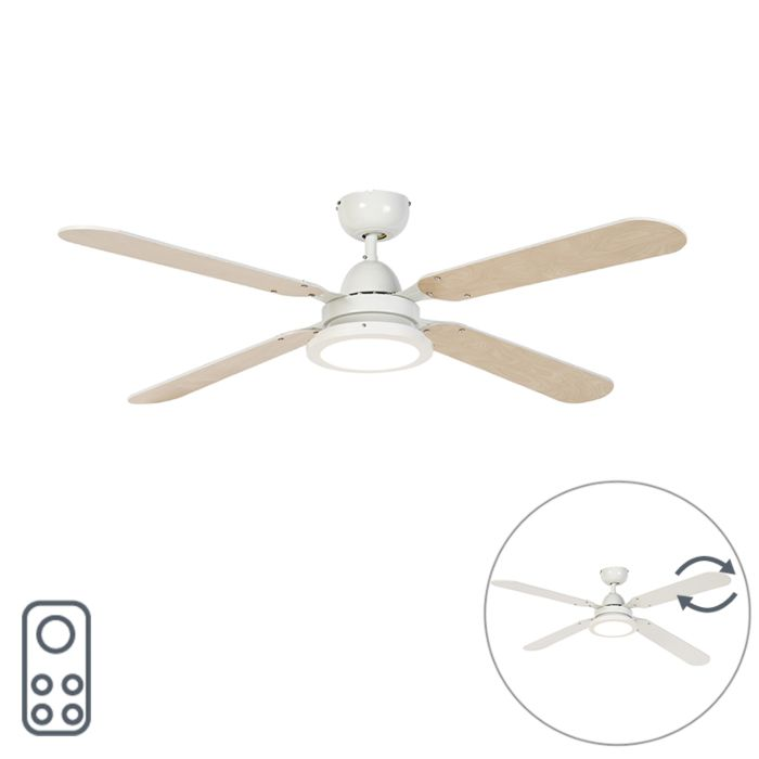 Ceiling-fan-white-with-remote-control---Fanattic