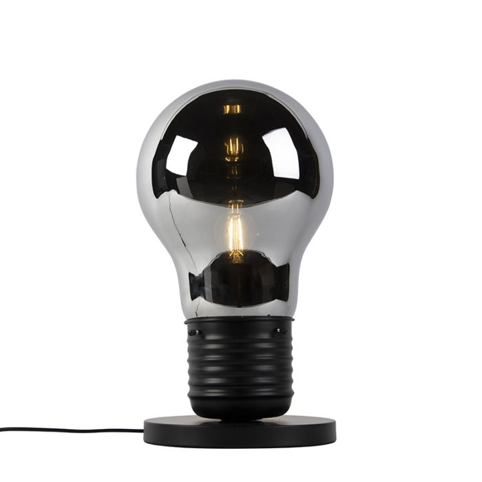 Design-table-lamp-black-with-smoke-glass---Nigrum