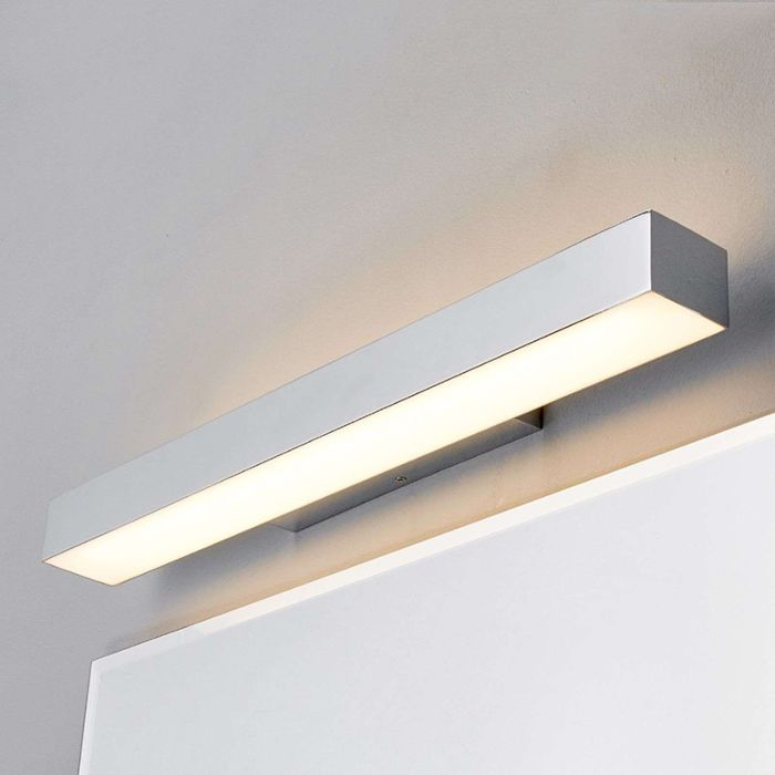Modern-bathroom-lamp-chrome-60-cm-incl.-LED-IP44---Kiana