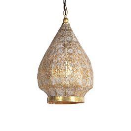 Oriental Hanging Lamp Gold 28 Cm Mowgli Lampandlight